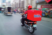 Biker Delivery Boy